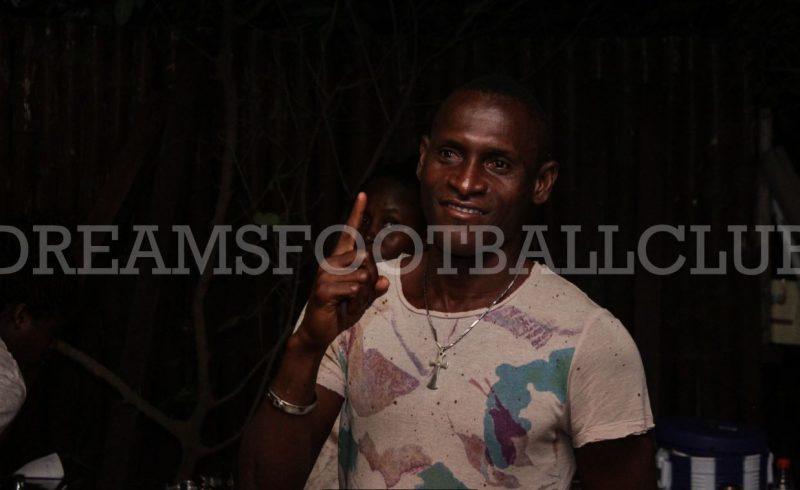 Dreams FC chief Kurt Okraku purrs about club's veteran striker Eric Gawu