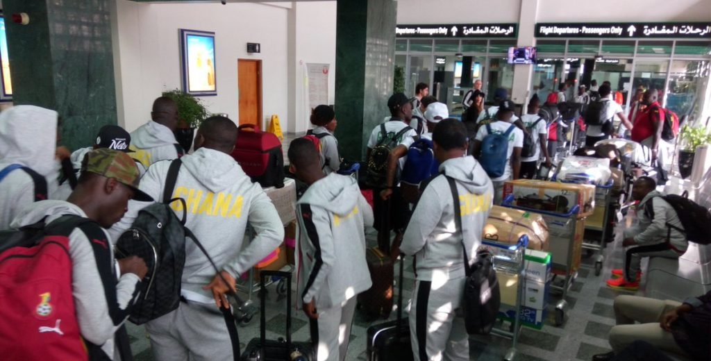 Black Stars players disappointed with government