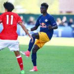 Promoted Gideon Mensah makes first Red Bull Salzburg bench appearance