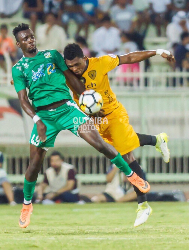 Ghana's Rashid Sumaila named in Kuwait Viva League Team of the Week