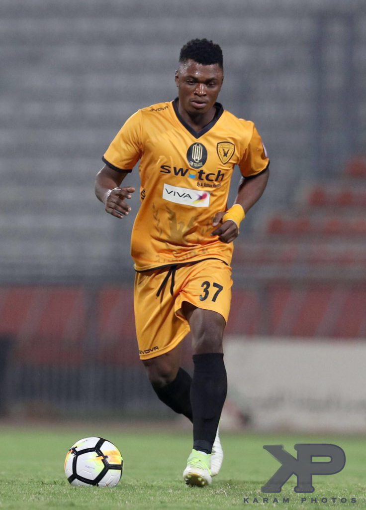 Ghana's Rashid Sumaila delivers again for Al Qadsia in victory against Kazma SC in Kuwait