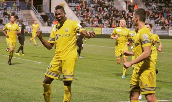 Ghanaian striker Sadam Sulley nets third goal in four matches in Zemplin Michalovce defeat to DAC