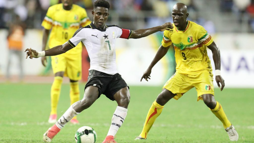Black Stars new boy Isaac Twum ready to fight for a place in the team
