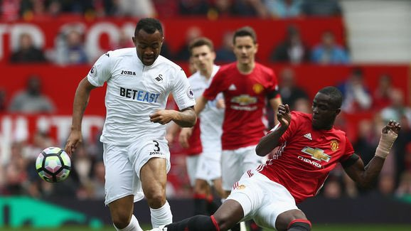 "Jordan Ayew happy to be working with ""big brother"" Wilfred Bony at Swansea City"
