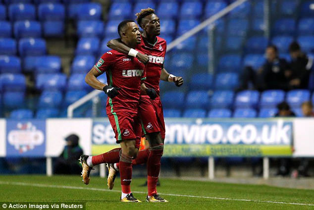 VIDEO: Jordan Ayew's sublime strike for Swansea City in win over Reading