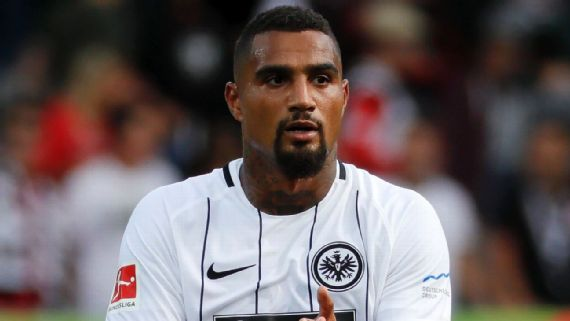 Kevin Boateng insists Eintracht Frankfurt did not deserve to lose to RB Leipzig