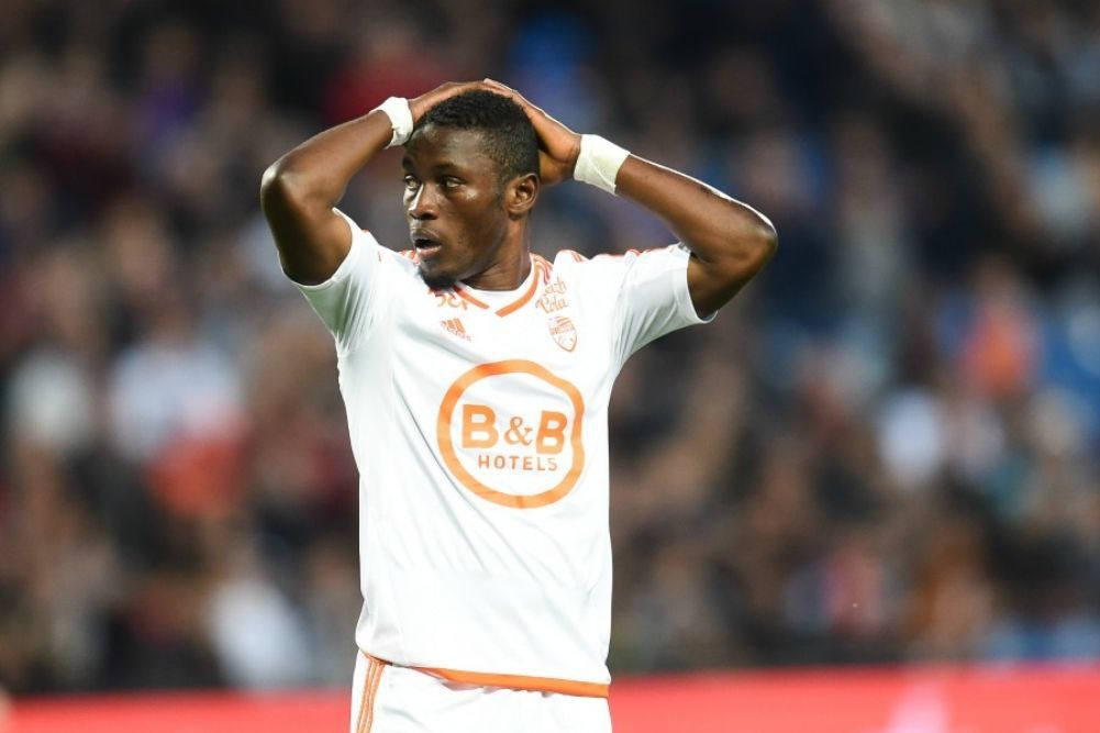 Ghana forward Majeed Waris out of Lorient squad to face Valenciennes tonight