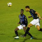 VIDEO: On-loan Emmanuel Ntim suffers thigh injury on Chambly debut