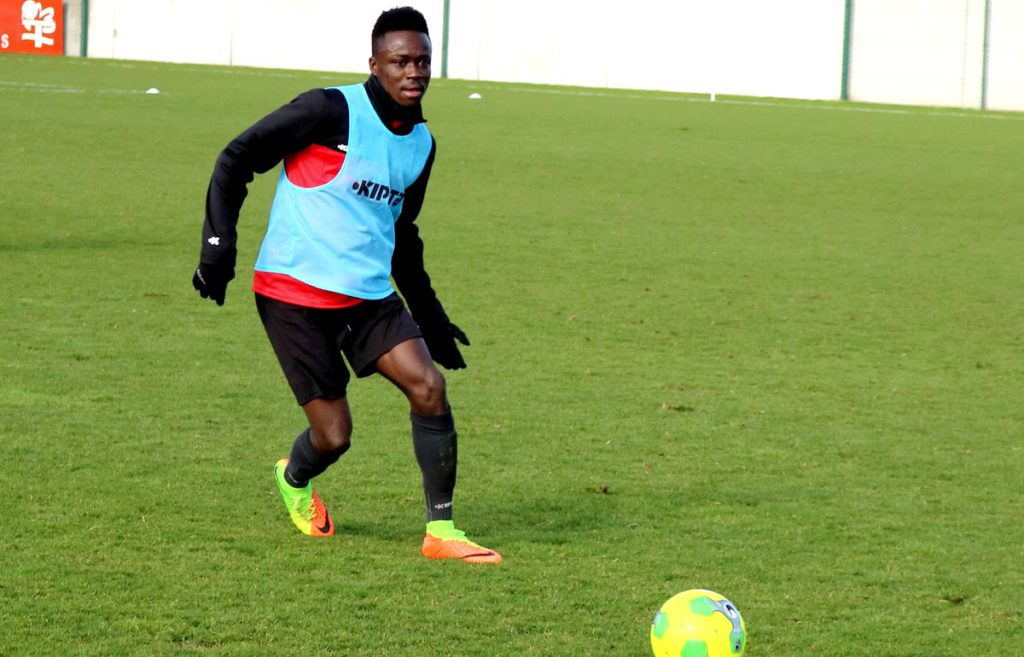 Emmanuel Ntim returns to Valenciennes after expiration of loan spell at Chambly