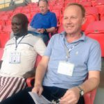 Hearts of Oak coach Frank Nuttall arrives in Cape Coast to scout WAFU Cup of Nations talents