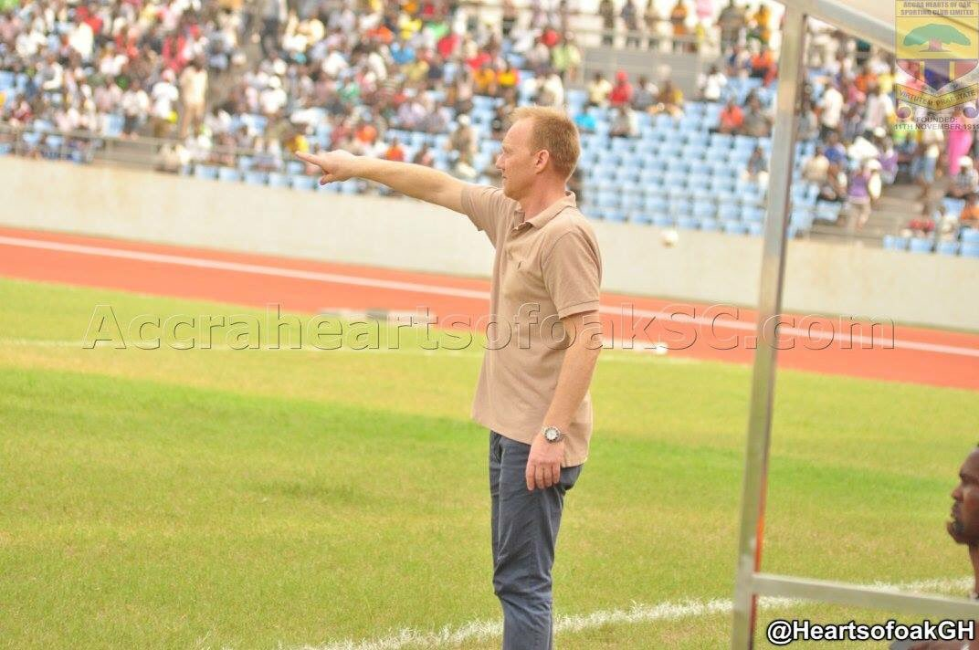 Aduana Stars drag Hearts coach Frank Nuttal to Ghana FA over abusive conduct