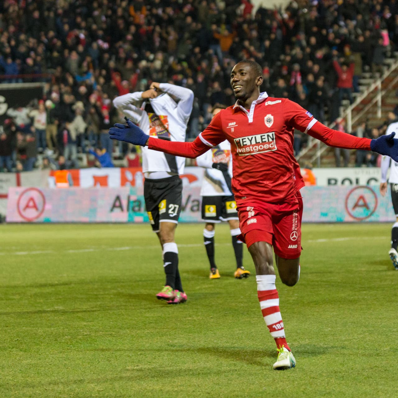 VIDEO: Watch William Owusu's sublime goal and assist as Antwerp beat Kortrijk