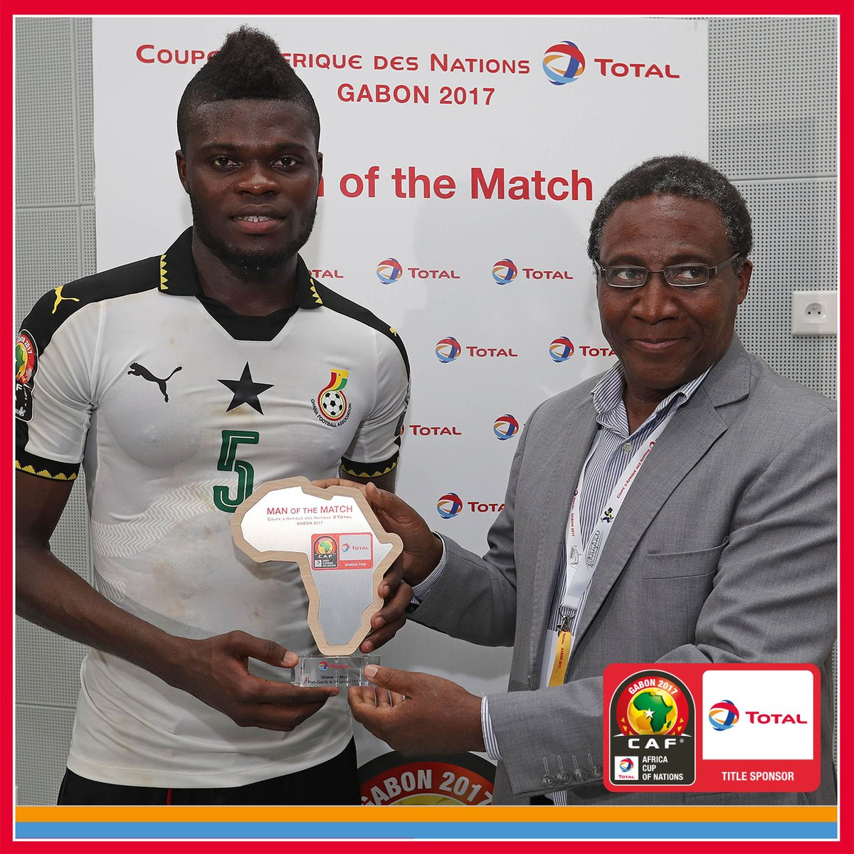 Atletico Madrid star Thomas Partey named CAF'S matchday-4 MVP