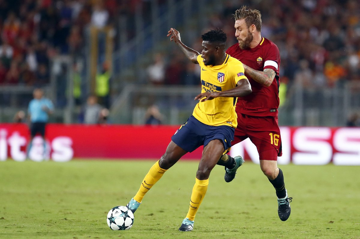 Thomas Partey bemoans bad luck in Atletico Madrid's disappointing draw at AS Roma