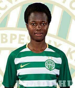 Black Queens striker Portia Boakye joins Hungarian side Ferencvarosi TC