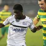Striker Ropapa Mensah named in USL Team of the Week