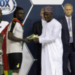 Berekum Chelsea star Stephen Sarfo wins WAFU Nations Cup top scorer prize after brace in final