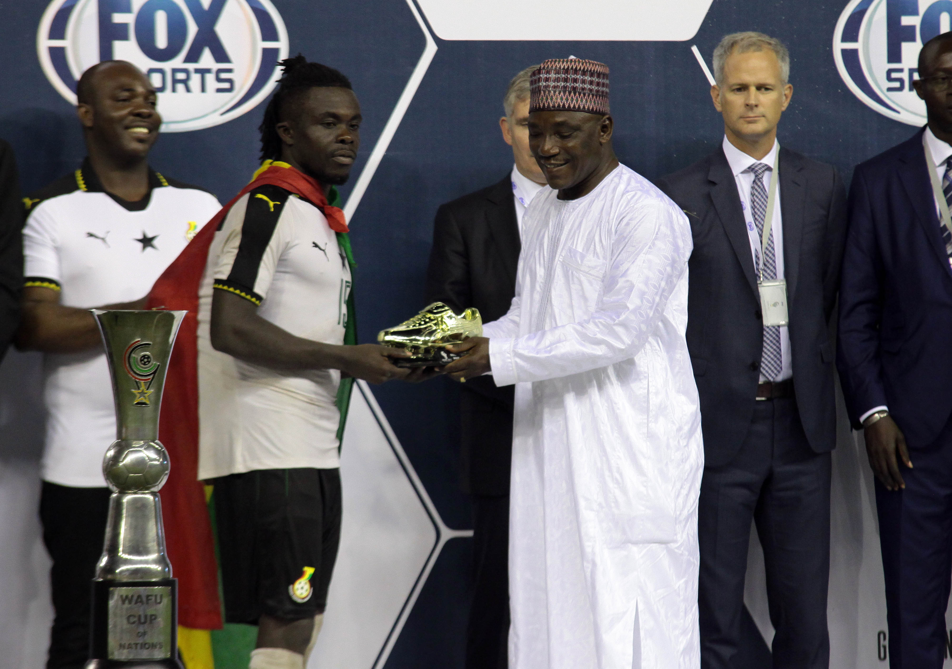Kaizer Chiefs ready to slap in bid for 2017 WAFU Cup of Nations top scorer Stephen Sarfo