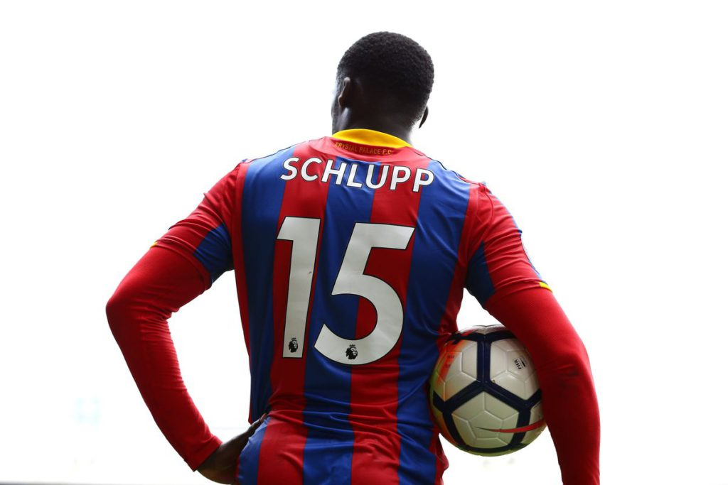 Jeffrey Schlupp's Crystal Palace set infamous record