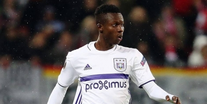 Anderlecht coach Nicolás Frutos defends Adjei Sowah after poor display against Waasland-Beveren