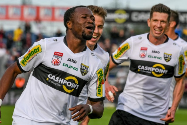 Rising Ghana talent Bernard Tekpetey banned for reaction to racist insults in Austria