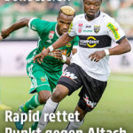 VIDEO: Watch Bernard Tekpetey's debut goal for Austrian side Altach