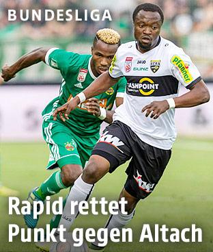 VIDEO: Watch Bernard Tekpetey's debut goal for Austrian side Altach