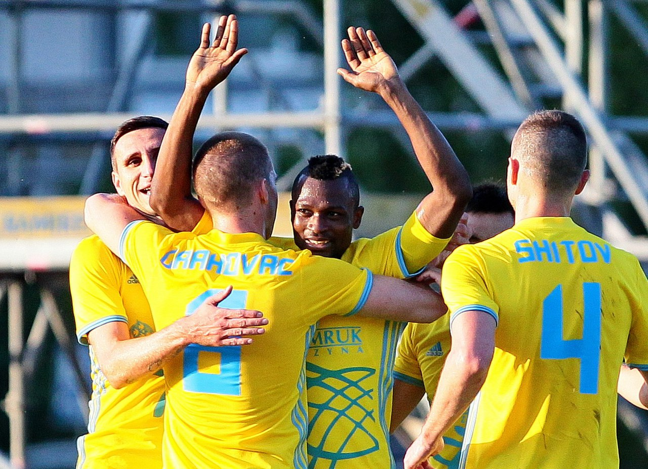 Astana star Patrick Twumasi makes it goal No.11 in Kazakh top-flight