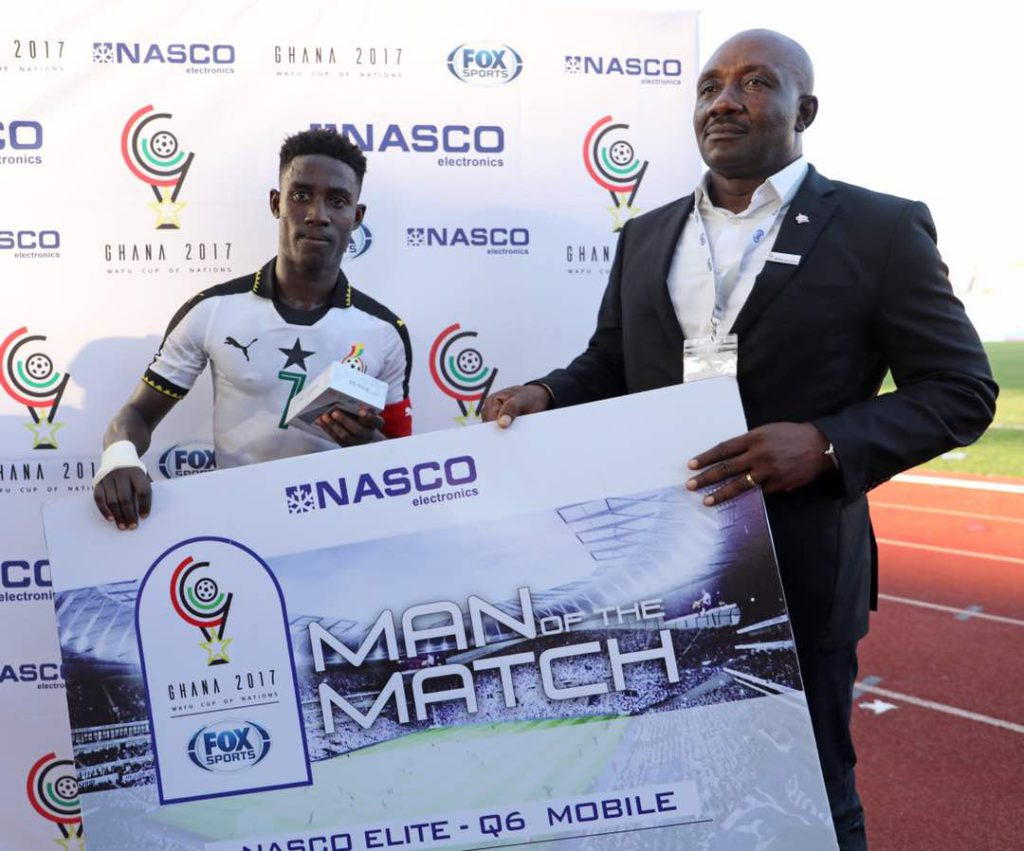 2017 WAFU Cup of Nations: Ghana\'s captain Isaac Twum wins tournament MVP Award