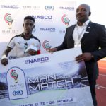 2017 WAFU Nations Cup: Ghana captain Isaac Twum wins Man of the Match award against Gambia