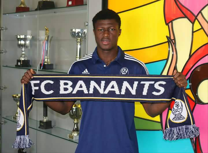 EXCLUSIVE: Armenian top-flight side FC Banants snap up Cheetah FC kid Kwasi Zibo