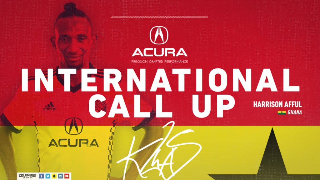 American top-flight side Columbus Crew confirm release of duo Afful, Mensah for two Ghana matches