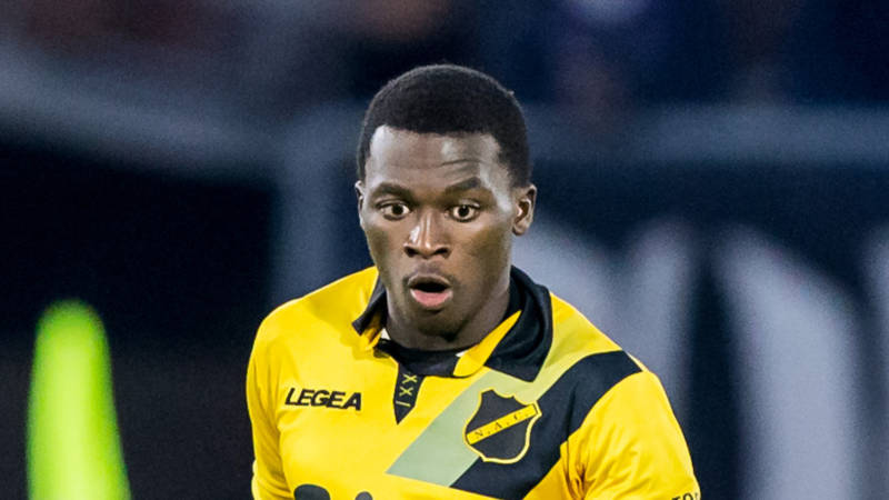 Crocked NAC Breda star Thomas Agyepong will 'take several weeks' to recover