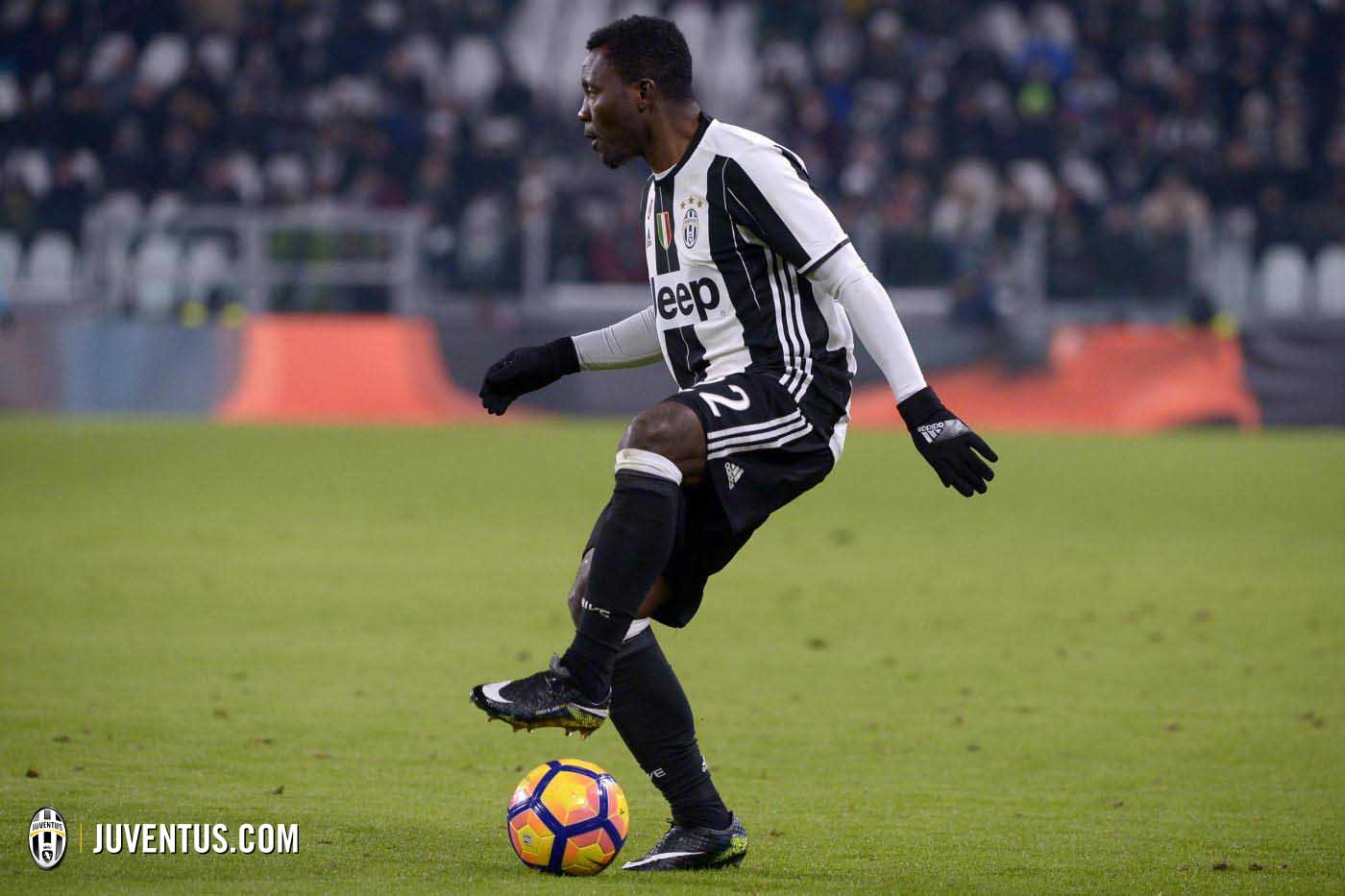 Kwadwo Asamoah plays first petitive match for Juventus after