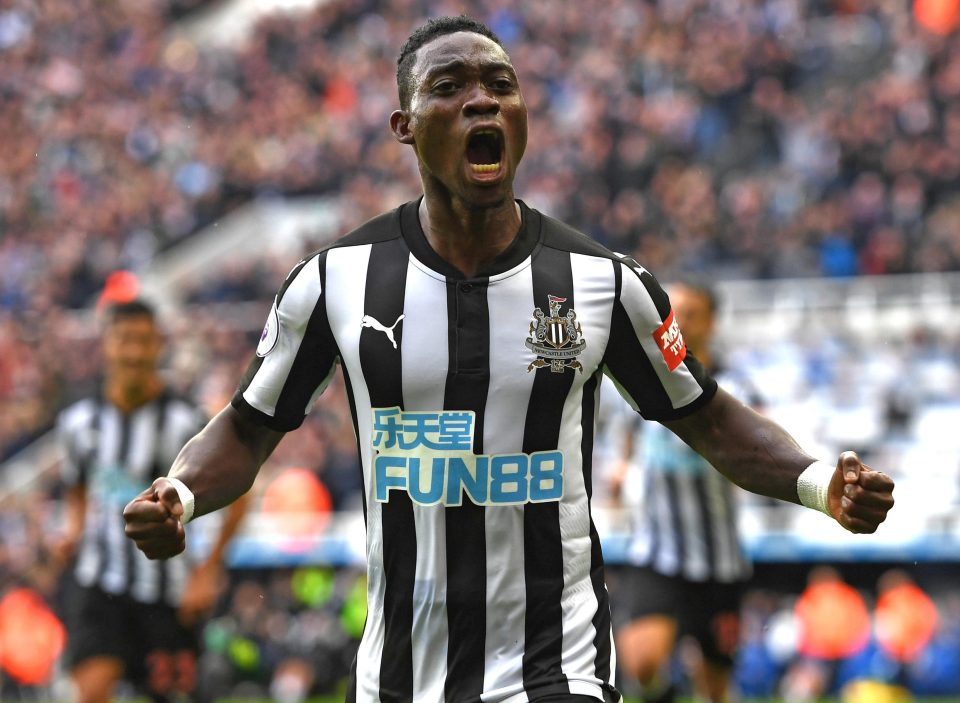 Christian Atsu reiterates determination to help Newcastle United to higher heights