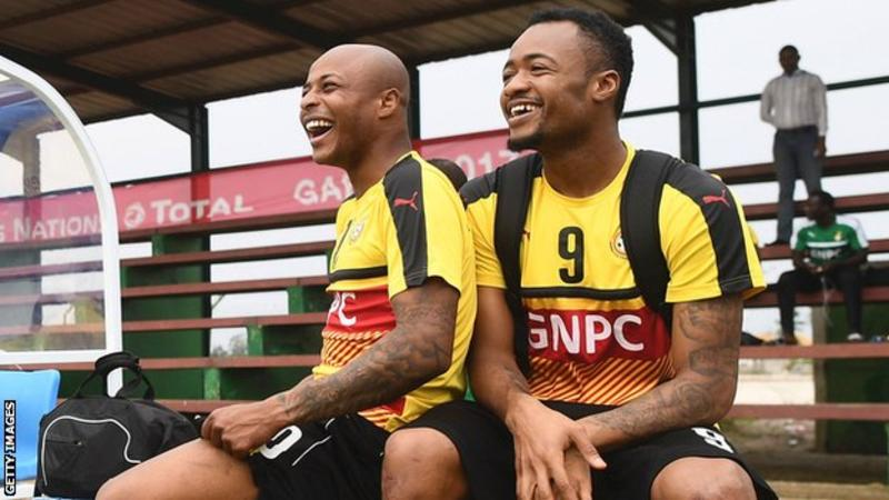 Assistant coach Tanko reveals why Ayew brothers were axed from Ghana squad