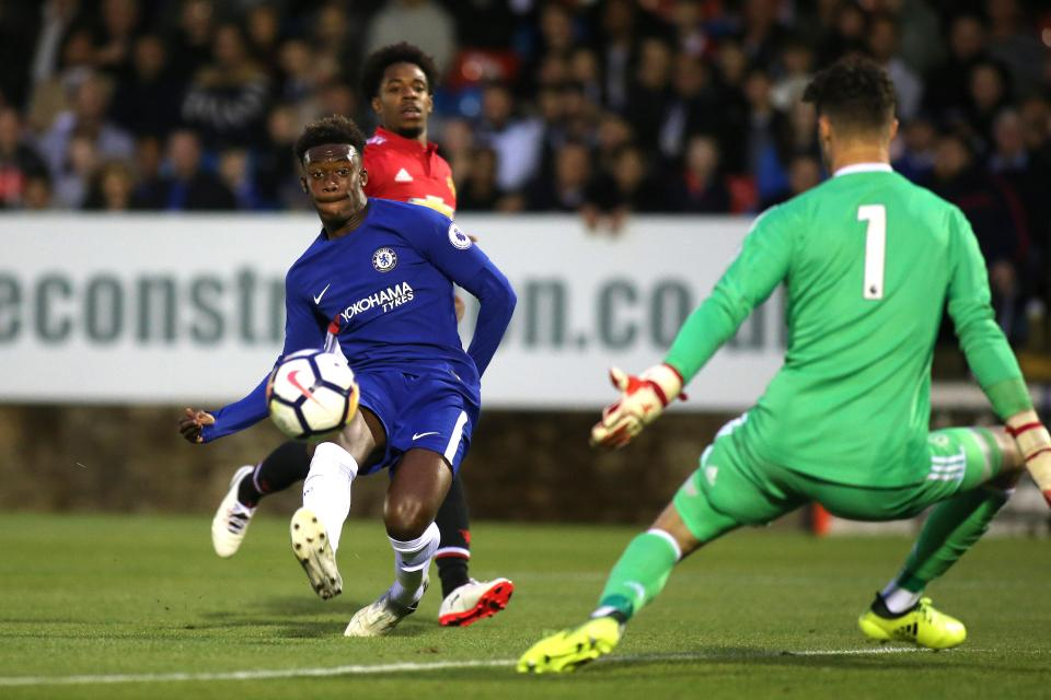 Ghanaian starlet Callum Hudson-Odoi dazzles with brace for Chelsea youth against Manchester United