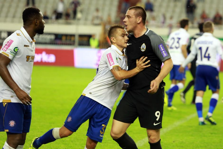 Photo gallery of Ahmed Said's undesired clash with Lokomotiv Zagreb