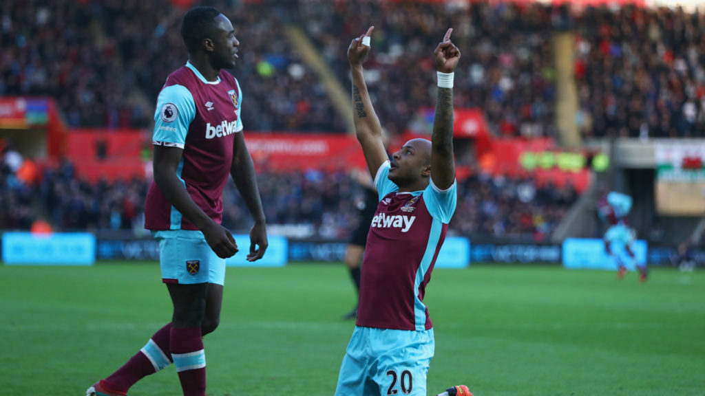 Andre Ayew warns team mates not to be carried away by stupendous show in West Ham win over Huddersfield