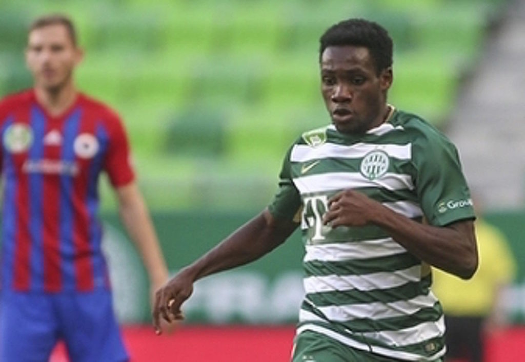 Joseph Paintsil suffers injury blow in TC Ferencvarosi draw with Debrecen