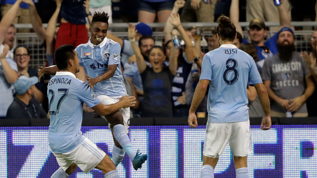 Latif Blessing scores as Sporting Kansas City lift 4th US Open Cup
