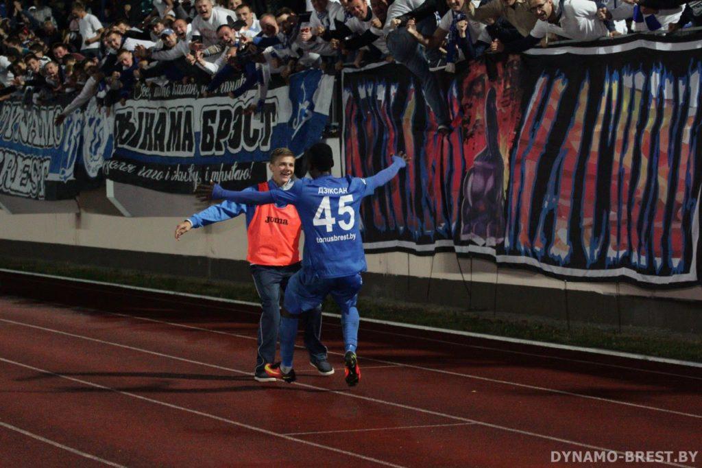 Ghanaian striker Dickson Afoakwa scores as Gomel FC hammer Naftan in Belarus