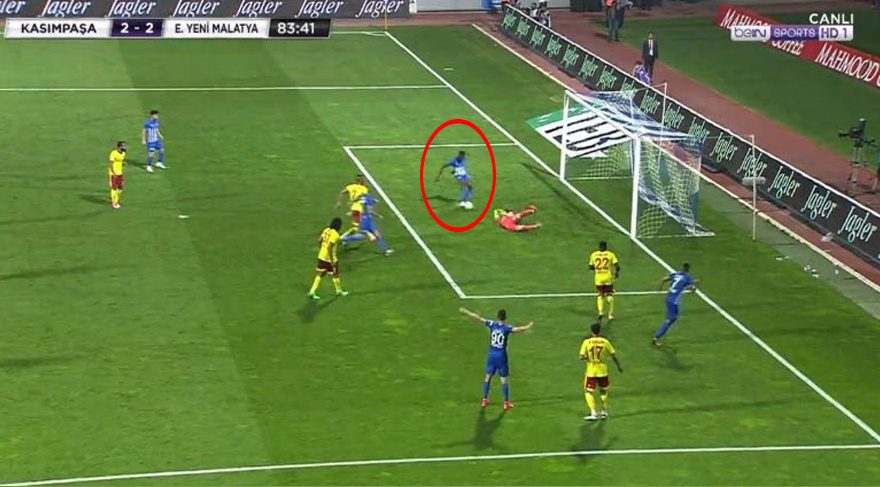 VIDEO: Bernard Mensah's shocking MISS that is dominating the headlines in Turkey