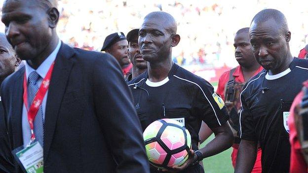 Disgraced referee Joseph Lamptey's manipulation to cost FIFA $380,000 in compensation to South Africa