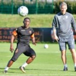 Lorient handed huge boost as Waris undergoes full training ahead of Friday's clash