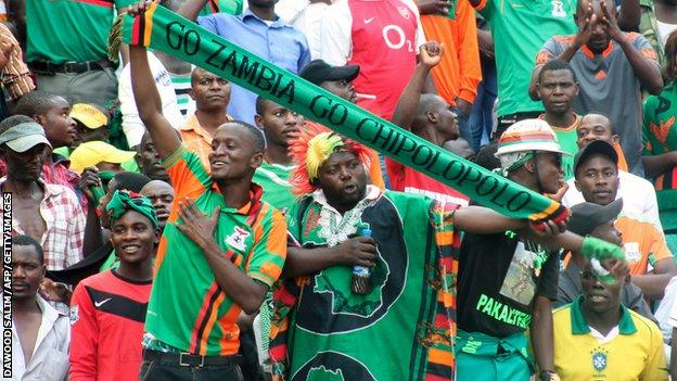 AFCON 2019 qualifier: Chipolopolo leave it late to rescue a point in Namibia in Group K