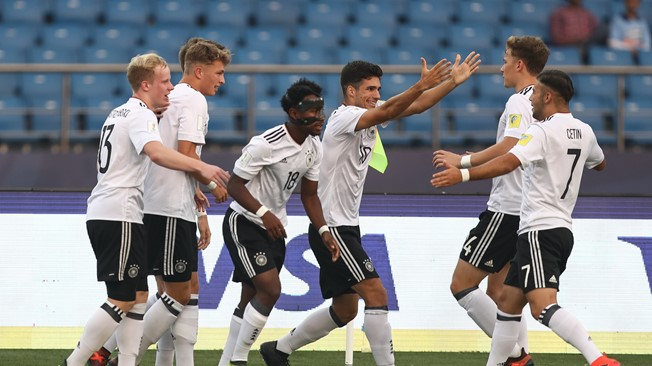 FIFA U-17 World Cup: Germany thump Colombia 4-0 to secure quarter-final spot
