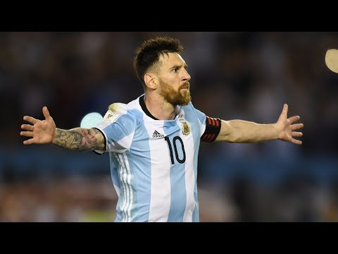 Lionel Messi Vs Ecuador Goals Skills