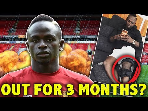 BREAKING: Sadio Mane OUT Injured For 3 Months! | #The12thMan