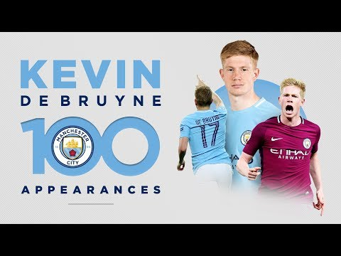 KEVIN DE BRUYNE - 100 GAMES | Best Man City Moments!